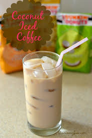 Coconut Iced Coffee Recipe Cold Brewed Directions Dunkin Donuts