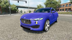 100 Maserati Truck Levante 2017 For Euro Simulator 2