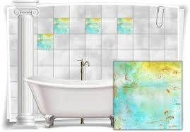 badezimmer fliesen aufkleber fliesen bild vintage nostalgie