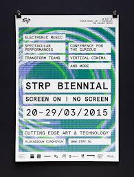 Brand Identity For STRP Biennial 2015 By Raw Color BPO