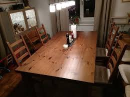 ikea esstisch und 6 stühle