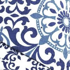 Cynthia Rowley Bedding Twin Xl by Cynthia Rowley Blue Medallion Queen Quilt White Circle Tile Indigo