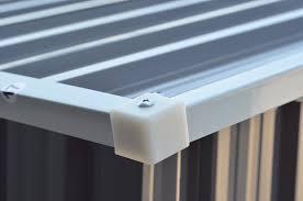 4x8 Metal Storage Shed by Amazon Com Goplus Galvanized Steel Outdoor Garden Storage Shed 4