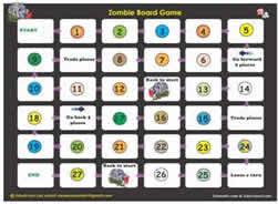Printable Math Board Games