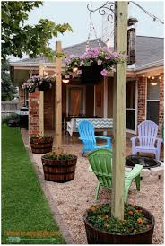 Patio Floor Ideas On A Budget by Backyards Wondrous Affordable Outside Fire Pit Designs And