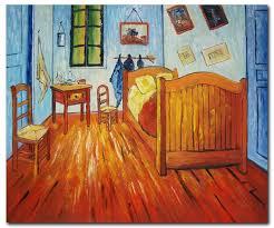 The Bedroom at Arles van Gogh Paintings