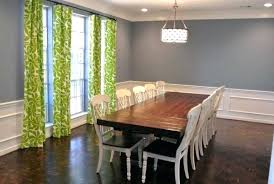 Formal Dining Room Paint Ideas Color Schemes Unique Rooms White Curtain Small