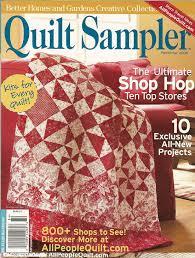 Quilt Sampler Magazine Subscription