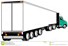 100 Articulated Truck Stock Vector Illustration Of Forwarding Trailer 5813437