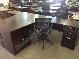 realspace magellan performance outlet collection l desk and hutch