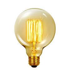 globe electric company vintage edison 60 watt 2700k g40 vanity
