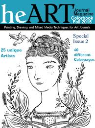 A Coloring Page To HeArt Journal Magazines First Ever Color Book Issue For Adults And Kids Too 25 Different Artists Have Collaborated Make 40