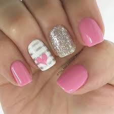 pink nails design best 25 pink nail designs ideas on pinterest