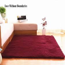 fabrik auf verkauf großhandel lange haare weich teppich wein rot schlafzimmer teppich platz matte wohnzimmer teppich anti slip matte tür teppich