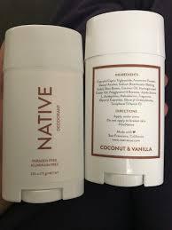 Native Deodorant (Coconut And Vanilla) Reviews In Deodorant ...