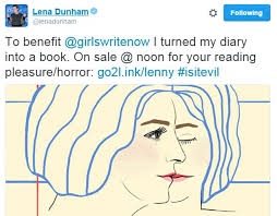 Dunham Is Releasing Her Diary Entries In A Limited Edition Book Called It Evil Not