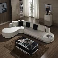 lounge 2 sitz ottoma lot weiß echtes leder kleine wohnzimmer sofa möbel ce 226