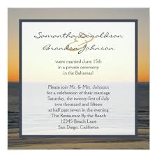 Wedding Reception Only Invitations
