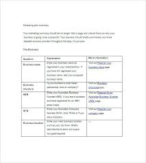 Simple Marketing Plan Template Free Pattern Example Format Structure Online Pdf