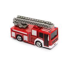 100 Fire Trucks Toys RC Mini Engine