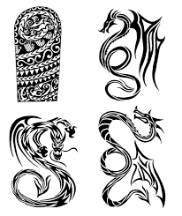 Requiet 99 10 Tribal Dragons Tattoo Designs By Thehoundofulster