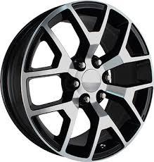 OE Replicas Wheels 2014 Sierra Gloss Black Machined in Houston at