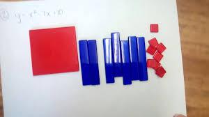 factoring trinomials using algebra tiles