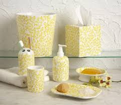 Yellow And Gray Bathroom Accessories by Yellow And Gray Bathroom Accessories Interior Designing Yellow And