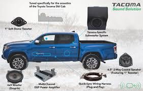 Tacoma (Dbl Cab) - OEM Audio Plus