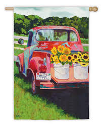 Sunflowers On Truck Garden Flag | Paint Nite | Pinterest | Painting ... Pickup Truck Gardens Japanese Contest Celebrates Mobile Greenery Solar Planter Decorative Garden Accents Plowhearth Stock Photos Images Alamy Fevilla Giulia Garden Truck Palermo Sicily Italy 9458373266 Welcome Floral Flag I Americas Flags Farmersgov On Twitter Not Only Is Usdas David Matthews Bring Yellow Watering In Service The Photo Image Sunflowers Paint Nite Pinterest Pating Mini Better Homes How Does Her Grow The Back Of A Tbocom
