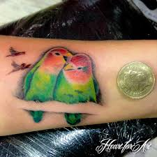Love Bird Tattoo
