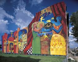 a celebration of poetry mural arts philadelphia mural arts