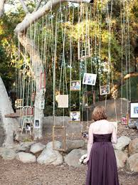 Diy Outdoor Wedding Hanging Decorjpg Family Photo Tree