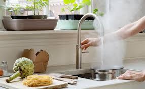 heißes wasser aus der küchenarmatur wie funktionieren