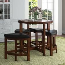 Jinie 5 Piece Counter Height Dining Set