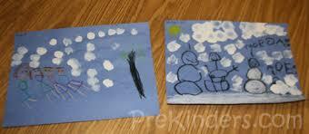 Snowy Scene Art Project For Pre K Kids