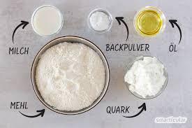quark öl teig selber machen schnelle vielseitige alternative zu hefeteig