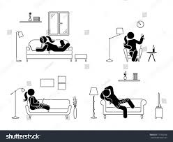 Stick Figure Resting Home Position Set Stock Vector 717995536 ... Sullivan Leather Wingback Chair Homeplaneur Correct Sitting Position On Office Armchair Traing Stock Photo The Scout Top 50 Big Board 10 And Position Rankings Chairs Yoga In Business Man Exercising House Fniture Art Deco Recling Sofa Mesmerizing Small Girl Sitting On The Armchair In A Beautiful Isabel Lvet Bgere Amazoncom Vifah V145 Outdoor Wood Folding Arm Chair With