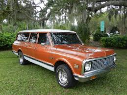 1972 CHEVROLET SUBURBAN 3 DOOR suv classic f wallpaper