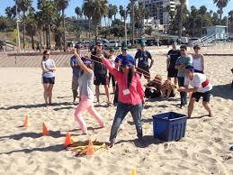 Beach Activity Team Building Event