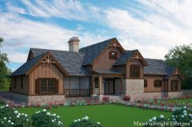 Rustic Cottage House Plans By Max Fulbright Designs Garage With Apartment Dogtrot