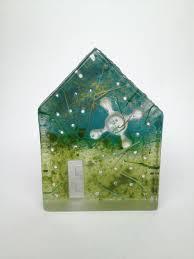 100 Cast Of Glass House Este MacLeod Sand Cast Glass Tiny S Art Craft Art