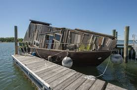 100 Houseboat Project Wetland Not Your Average The Sag Harbor Express