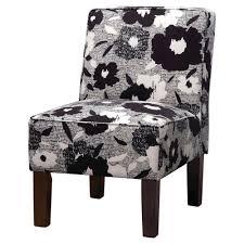 Burke Accent Print Slipper Chair - Polly Aegean - Threshold ...