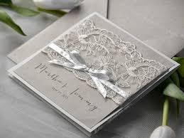 Eco Lace Wedding Invitation