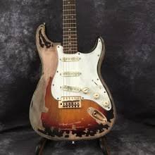 Custom Shop Masterbuilt John Cruise And Mayer BLACK1 Tribute ST Electric Guitar Real Photo