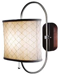 pull chain wall sconce 1 light white glass wall sconce