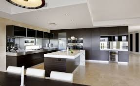 Modern Mad Home Interior Design Ideas Beautiful Kitchen Together With Island Glass Images