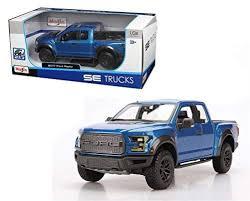 100 Ford Raptor Truck Amazoncom New 124 WB SPECIAL TRUCKS EDITION BLUE 2017 FORD