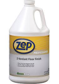 Zep Floor Finish Msds by Zep Distribution Z Verdant Floor Finish